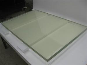 Radiation protective lead glass